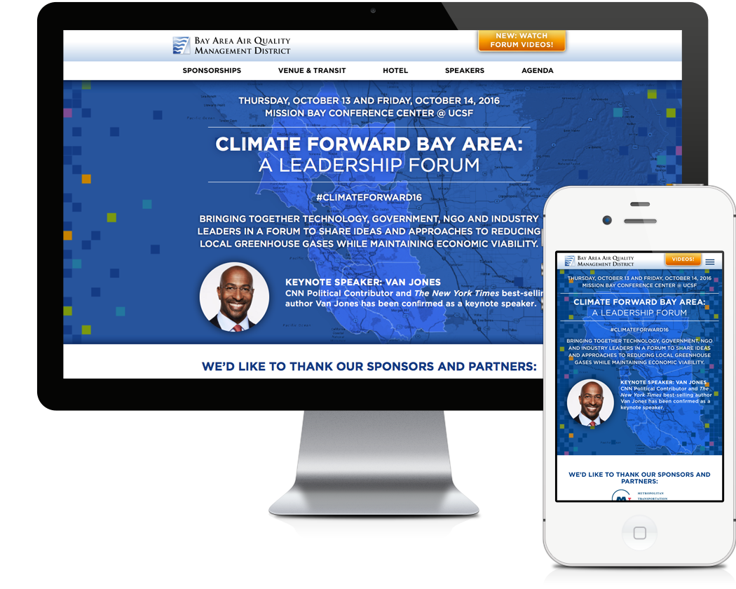 Climate Forward Conference Website